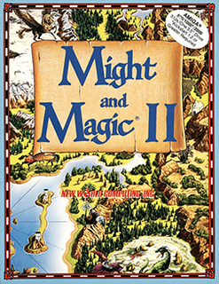 <i>Might and Magic II: Gates to Another World</i> video game
