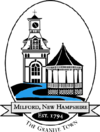 Official seal of Milford, New Hampshire