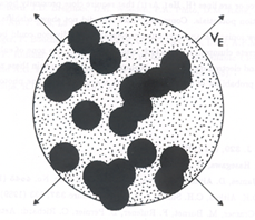Model of the dust distribution