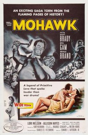 Mohawk (1956 film) - Image: Mohawk Film Poster