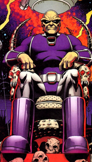 Mongul Comic book supervillain