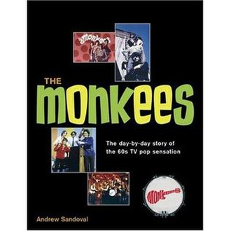 The Monkees: The Day-by-Day Story of the 60s TV Pop Sensation - Image: Monkeesdaybyday