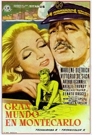 The Monte Carlo Story - Original Spanish film poster