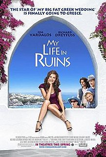 <i>My Life in Ruins</i> 2009 film by Donald Petrie