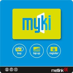 Myki - Original Myki retail signage