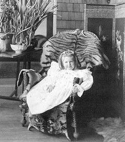 Josephine in the loggia, Naulakha, ca. 1895