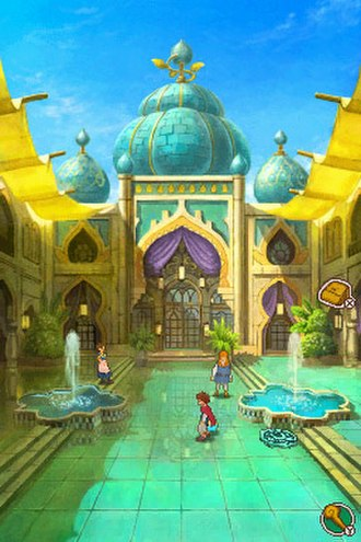 Ni no Kuni: Dominion of the Dark Djinn - Image: Ni no Kuni DS art style