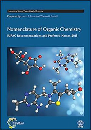 Nomenclature of Organic Chemistry - Hardcover 2013 edition