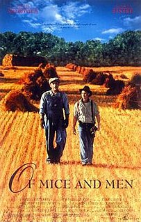 <i>Of Mice and Men</i> (1992 film) 1992 film by Gary Sinise