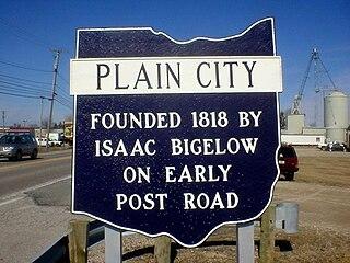 Plain City, Ohio Village in Ohio, United States