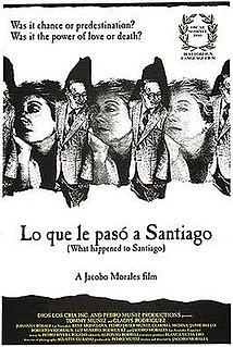 <i>Lo que le Pasó a Santiago</i> 1989 film by Jacobo Morales