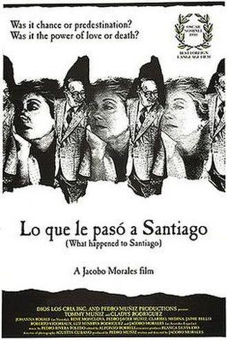 Lo que le Pasó a Santiago - Theatrical Poster