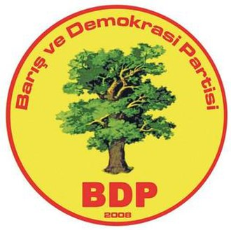 Peace and Democracy Party (Turkey) - Image: Peace and Democracy Party(BDP) logo