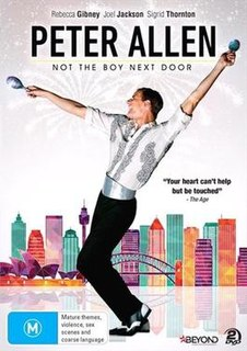 <i>Peter Allen: Not the Boy Next Door</i> 2015 film