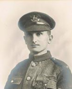 Arthur Vickers - Image: Portrait of Arthur Vickers VC