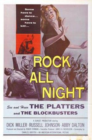 Rock All Night - Original film poster by Albert Kallis