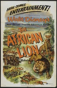 Poster of the movie The African Lion.jpg