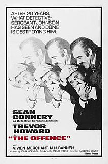 <i>The Offence</i> 1972 film by Sidney Lumet
