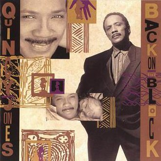 Back on the Block - Image: Quincy Jones Back On The Block front