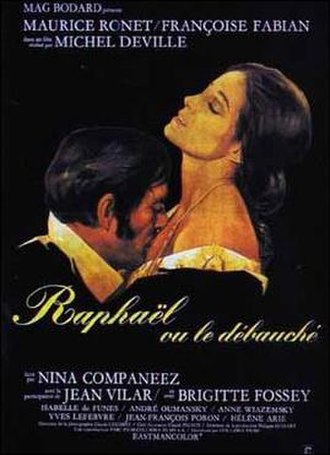 Raphael, or The Debauched One - Film poster