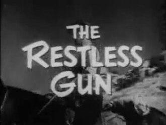 The Restless Gun - Title card