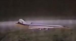 SST: Death Flight - SST: Death Flight relied heavily on models of the canceled Lockheed SST prototype.