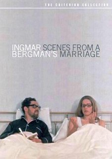 <i>Scenes from a Marriage</i> 1973 television miniseries by Ingmar Bergman