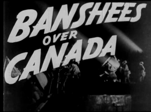 Banshees Over Canada - Opening title