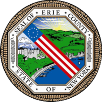 Government shutdown in the United States - Image: Seal of Erie County, New York