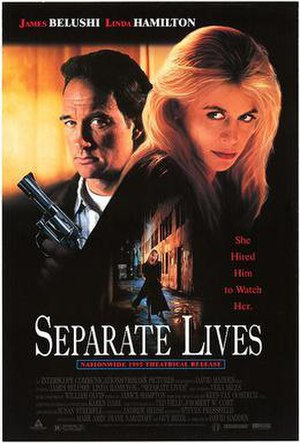 Separate Lives (1995 film) - Theatrical release poster