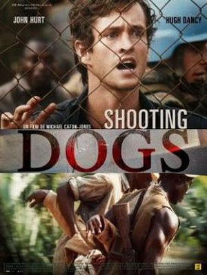 Shooting Dogs - Promotional movie poster