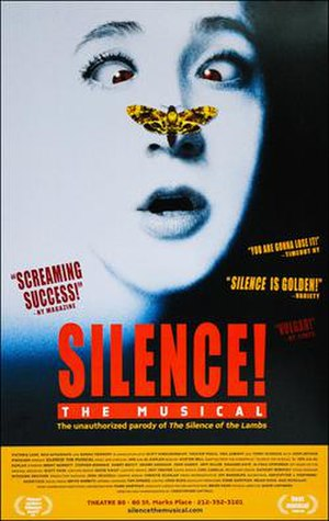 Silence! The Musical - Original Off-Broadway poster