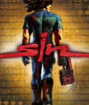 SiN - North American cover art