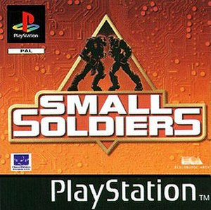Small Soldiers (video game) - Cover art