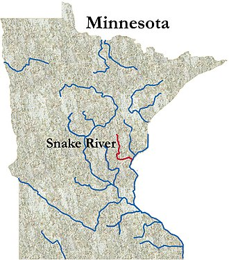 Snake River (St. Croix River tributary) - The Snake River
