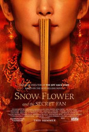 Snow Flower and the Secret Fan (film) - Theatrical release poster