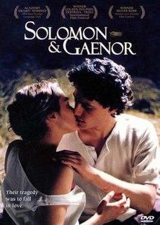 <i>Solomon & Gaenor</i> 1999 film by Paul Morrison