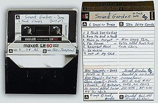 <i>6 Songs for Bruce</i> Demo album by Soundgarden