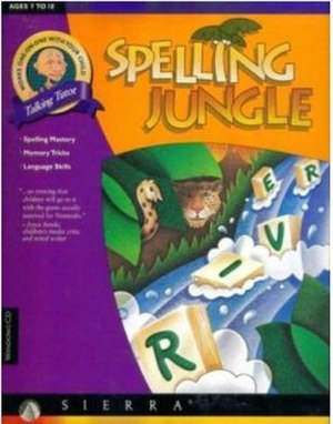 Spelling Jungle - Image: Spelling Jungle Cover Art
