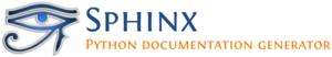Sphinx (documentation generator) - Image: Sphinx Python Documentation Logo