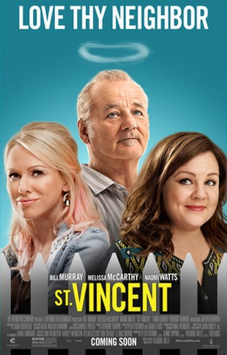 St. Vincent (film) - Theatrical release poster