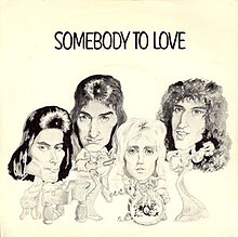 Image result for queen somebody to love single images