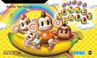 Super Monkey Ball - From left to right: MeeMee, Baby, AiAi, GonGon