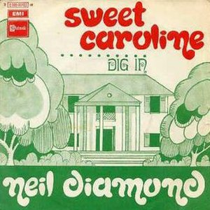 Sweet Caroline - Image: Sweet Caroline cover