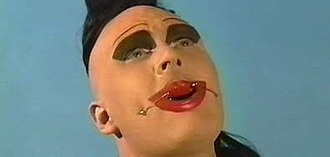 Leigh Bowery - Promotional still from the documentary The Legend of Leigh Bowery.