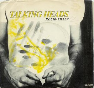 Psycho Killer - Image: Talking heads psycho killer USA vinyl