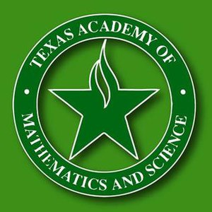 Texas Academy of Mathematics and Science - Image: Texas Academy of Mathematics and Science Logo