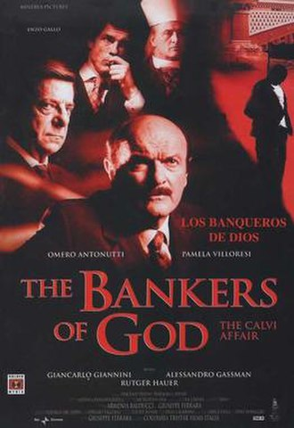 The Bankers of God: The Calvi Affair - Image: The bankers of god the calvi affair movie poster 2002