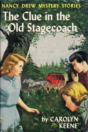 The Clue in the Old Stagecoach - First edition