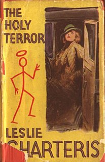 <i>The Holy Terror</i> (short story collection) book by Leslie Charteris